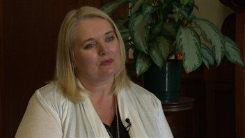 La ministre des Services à l'enfant et à la famille du Manitoba, Kerri Irvin-Ross