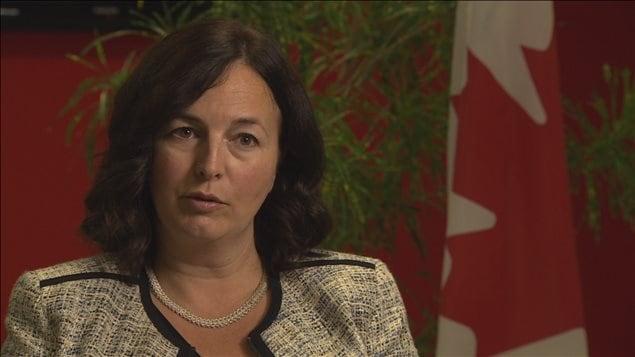 Michelle Cameron, ambassadrice du Canada au Liban