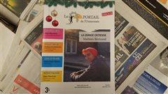Première édition du journal de rue mensuel « Le Portail de l'Outaouais ».