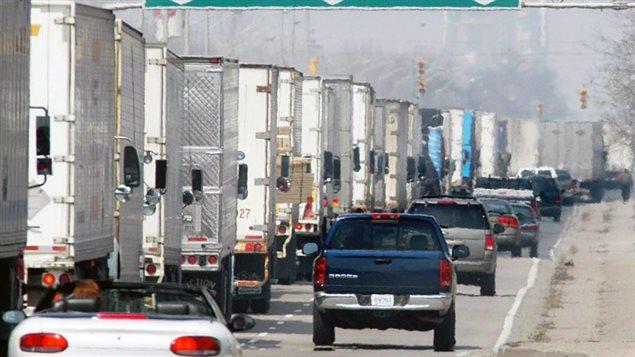 Les exportations ont contribué pour une bonne part à la hausse du PIB.Photo: Jason Kryk La Presse canadienne