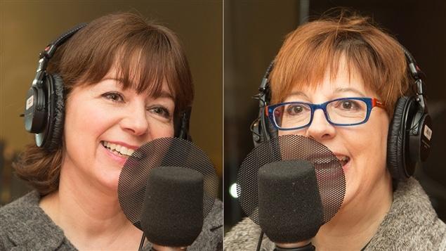 Sylvie Dumontier et Chantal Lamarre