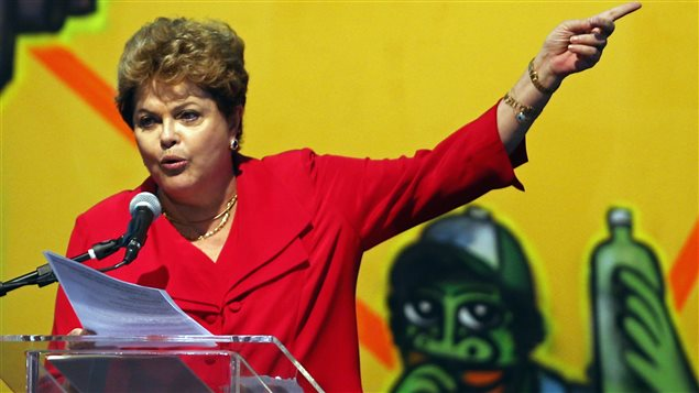 La presidenta de Brasil, Dilma Rousseff, denuncia un golpe de Estado en Brasil.