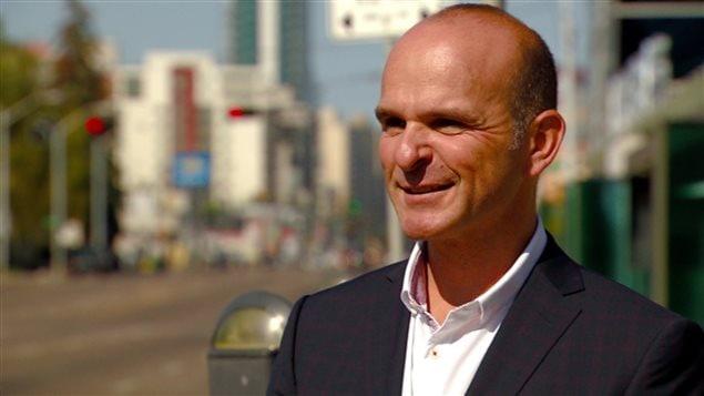 Le député d'Edmonton-Centre, Randy Boissonnault.