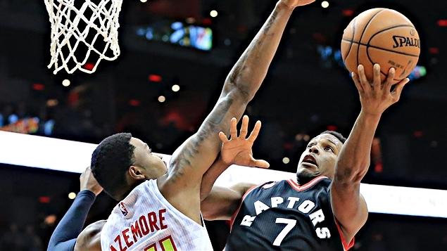 Kyle Lowry a inscrit 31 points pour les Raptors
