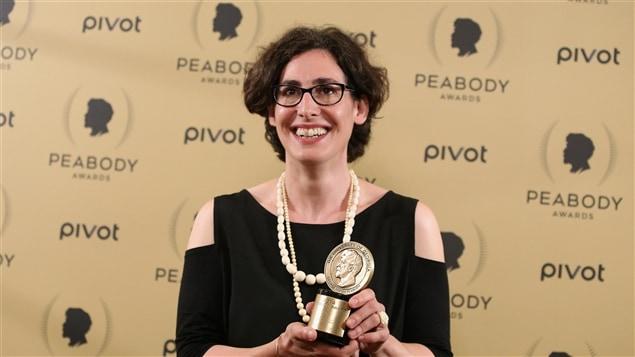 L'animatrice de la baladodiffusion <i>Serial</i>, Sarah Koenig