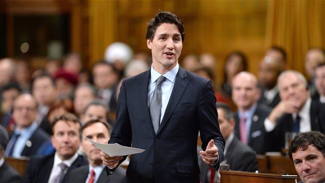 Le premier ministre Justin Trudeau a félicité le nouveau président de la Chambre des communes, Geoff Regan.