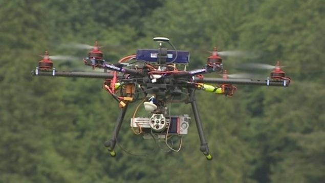 La Ville de Québec testera l'utilisation de drones pour ses opérations policières, de sécurité incendie et de sécurité civile. Un partenariat de deux ans vient d'être conclu avec l'entreprise EXO Tactik, dont Stéphane Bouvier est le président.