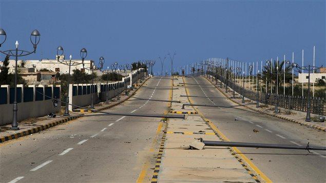 L'Etat islamique gagne du terrain en Libye, principalement dans la ville de Syrte.