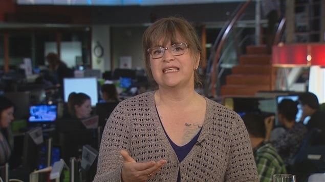 La coordonnatrice du Centre de luttre contre l'oppression des genres de l'Université Concordia, Gabrielle Bouchard