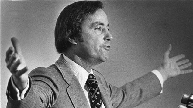 L'ancien premier ministre Bill Bennett en 1979