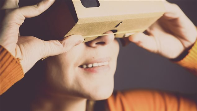 Le casque de réalité virtuelle Google Cardboard