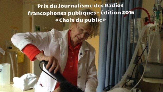 Le reportage de Ginette Lamarche sur Kathleen Mahony, bénévole coiffeuse pour la Fondation PalliAmi remporte le Prix du Journalisme des Radios publiques francophones (2015) dans la catégorie Choix du public