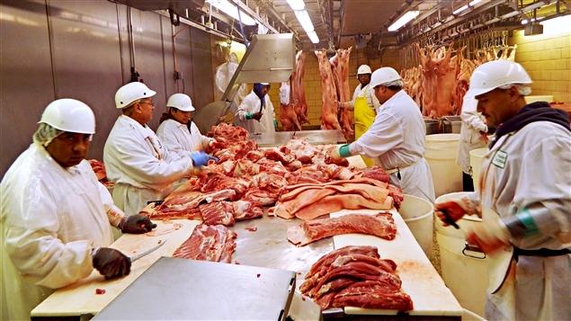 Le Canada et l'Ukraine s'entendent pour accroître l'exportation de la viande Canadienne.