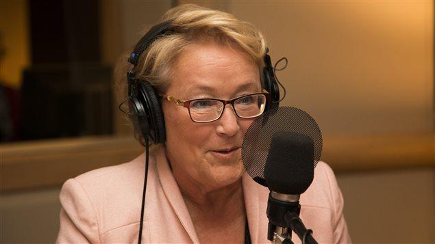 L'ex-premi�re ministre du Qu�bec, Pauline Marois