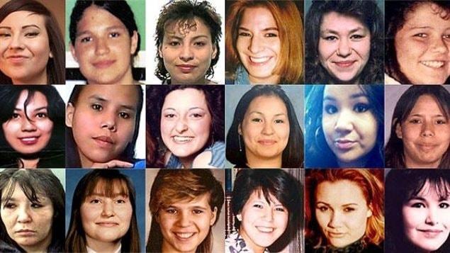 Des femmes autochtones assassinées ou disparues  Photo :  CBC/Radio-Canada