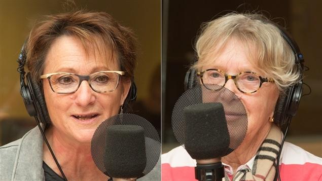 Ginette Lamarche et Kathleen Mahony