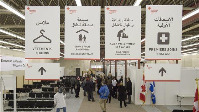 Tout se mettait en place pour accueillir les réfugiés au Canada en décembre 2015.