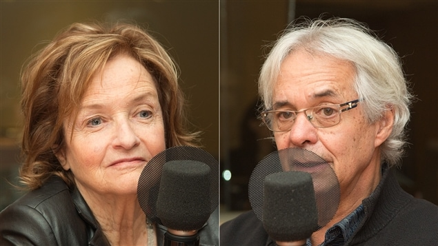 Claire Lamarche et Gilles Julien