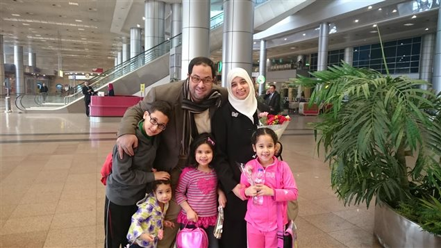 Khaled Al-Qazzaz and his wife, Sarah Attia, and their children have been trying to get back into Canada for more than 890 days. Al-Qazzaz was also detained for 558 days in solitary confinement and was released on Jan. 11, 2015.