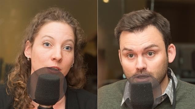 Sophie Séguin-Lamarche et Paul St-Pierre Plamondon