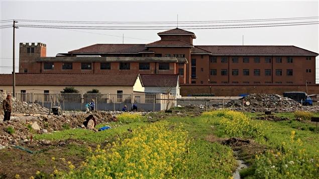 Le centre de détention No. 1 de Shangai en Chine.