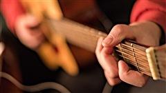 Un joueur de guitare sèche. (09-12-15)