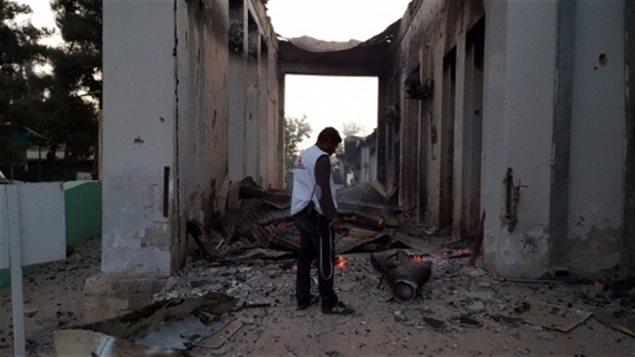 El hospital de MSF en Kunduz, Afganistán, fue bombardeado el 3 de Octubre 2015.