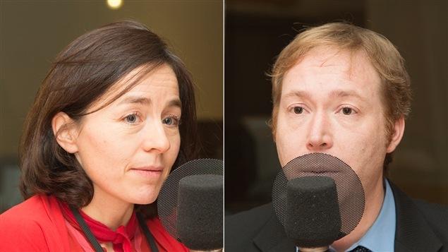 Laure Waridel et Youri Chassin