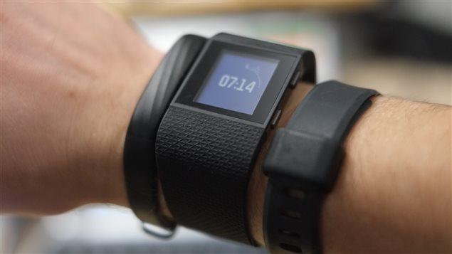 Bracelets connectés et capteurs d'activité