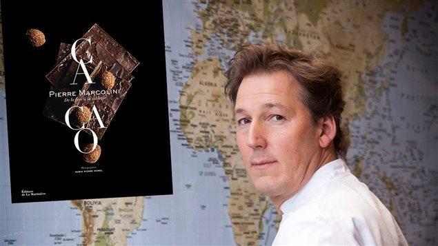 Pierre Marcolini, auteur de <em>Cacao, de la fève à la tablette</em>