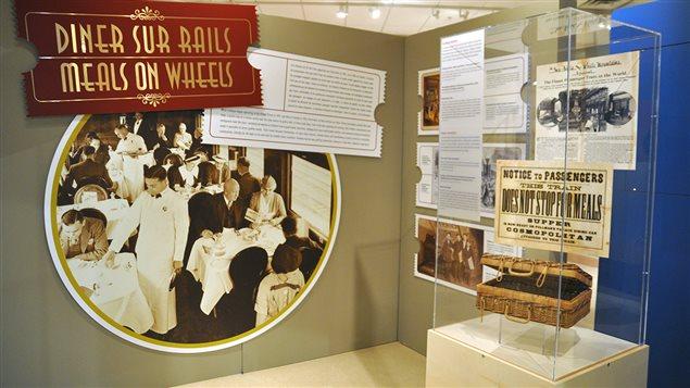L'exposition <em>Dîner sur rails</em>, d'Exporail, le musée ferroviaire canadien