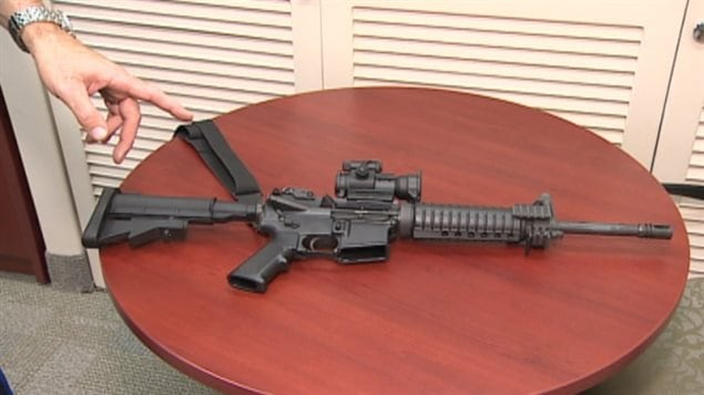 Halifax is among the communities where police services have added the short-barreled assault rifle, known to the Canadian military a as the C8 carbine to their arsenals.