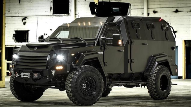This year, the Winnipeg Police Service in the province of Manitoba acquired a GURKHA tactical vehicle, from Terradyne Armored Vehicles.