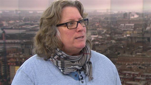 Chantal Racette, présidente du Syndicat des cols bleus regroupés de Montréal