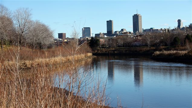 La rivière Saint-Charles à Québec