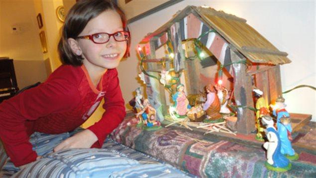 Émilie Bisnaire-Jackson explique pourquoi Noël est important pour elle