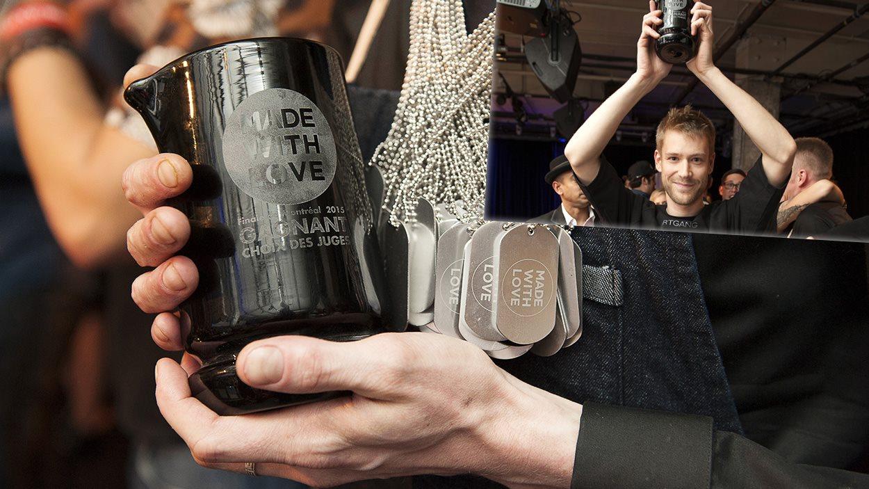 Pierre Gadouas a remporté le prix du public à la finale régionale du concours MadeWithLove