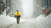 Une tempête hivernale dans les Maritimes pourrait laisser jusqu'à 40 cm de neige