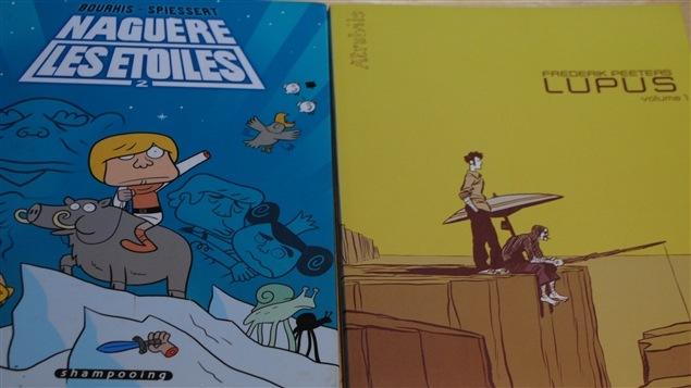 Des livres de bande dessinées