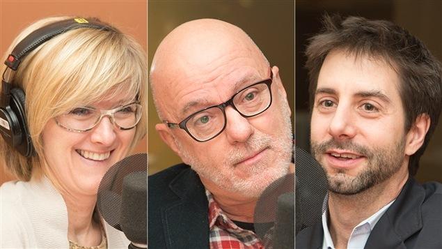 Diane Sauvé, Christian Dufour et François Cardinal