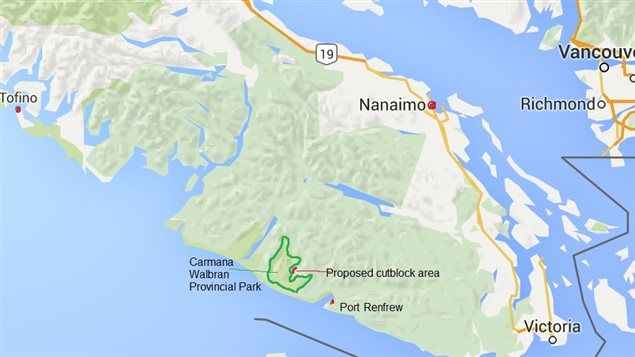 Vancouver Island, and Walbran area