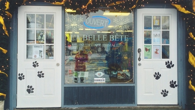 La Belle Bête, boutique de nutrition animale.