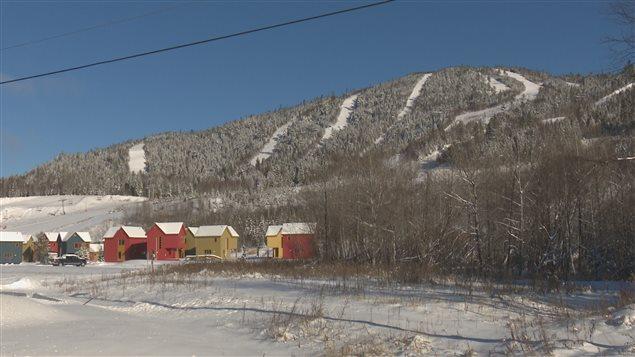 Le centre de ski de Pin rouge à New Richmond