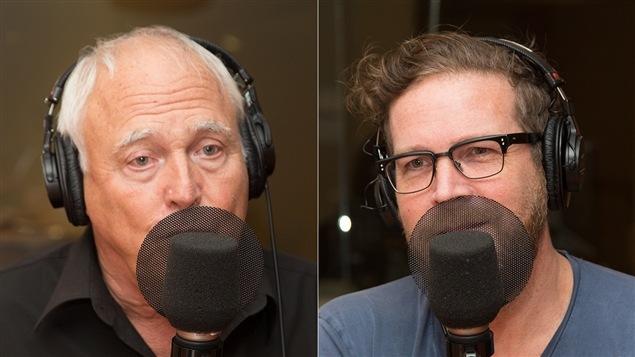 Daniel Pinard et Francois Legault