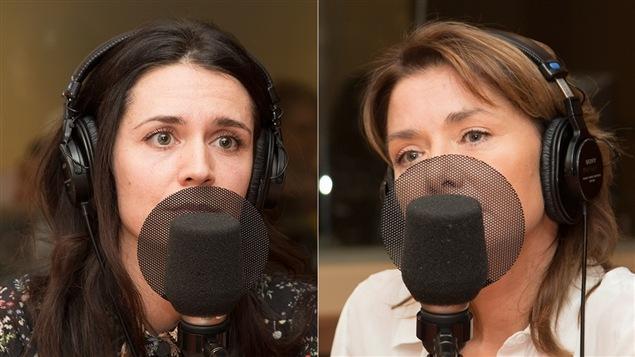 Mélissa Désormeaux-Poulin et Isabel Richer