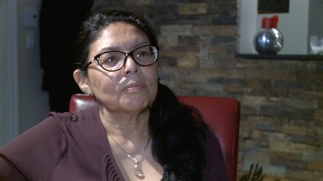 Rosanna Niquay, de Manawan, mère de Pinaskin Ottawa, disparu le 11 octobre 2010.
