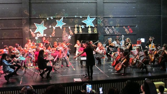 L'orchestre de l'école El Sistema à Pointe-St-Charles