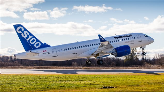 Bombardier Commercial Aircraft announced Friday,  Dec 18, 2015, that its all-new CS100 aircraft received its Transport Canada Type Certification.