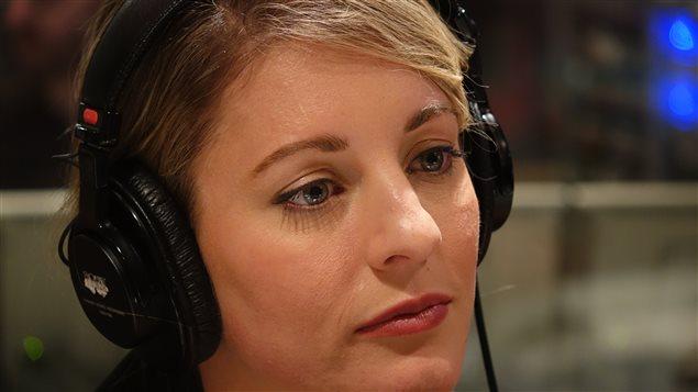 La ministre Mélanie Joly