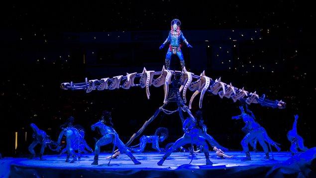Le spectacle « Toruk : Le premier envol », du Cirque du Soleil
